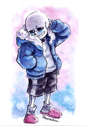 [com]Embarrassed sans by paurachan