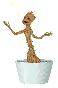 Baby Groot! by AxxKat