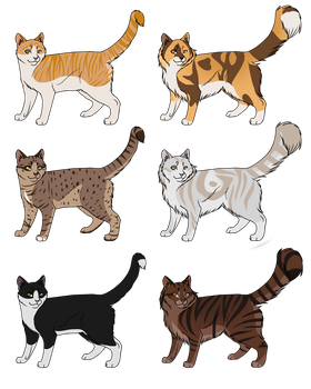 CLOSED Cat Character Adopts by Norse-Winds