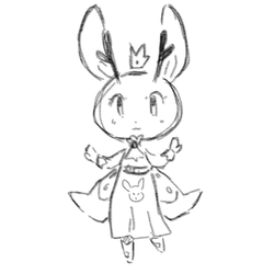 Lil Jackalope by CrissyG