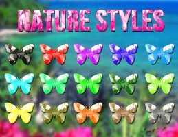 Nature Color Styles by LexiVonEerie