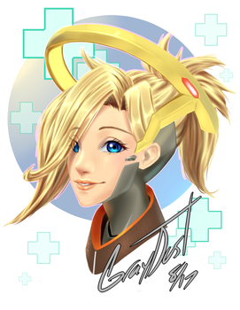 OW Mercy by GrayDustOA