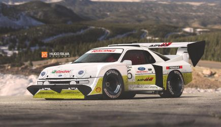 Ford RS200 Pikes Peak by hugosilva