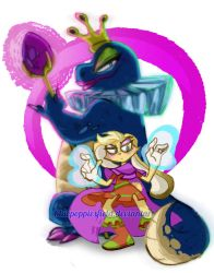 Sorceress and apprentice by Bluepoppiesfield