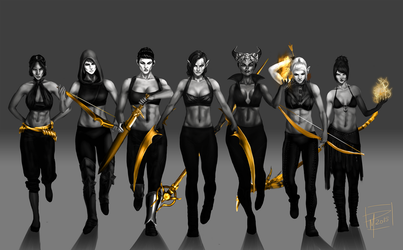 DAI Women by jadenwithwings