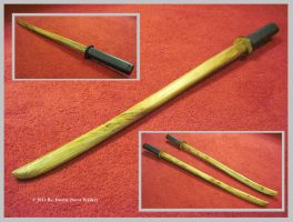 Practice Katana Set by Deorse