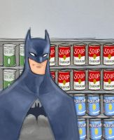 Batman in Canned Foods by DaveJorel