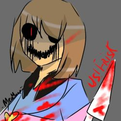You'll die! _ US! Frisk by meomuop2k2
