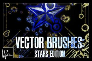 Vector Brushes: Stars Edition by DemosthenesVoice