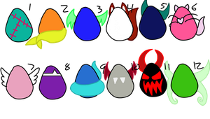 Egg adopts [5 OPEN] by TalesOfScreaming