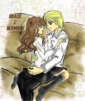 Dramione Sofa Talk by hacques