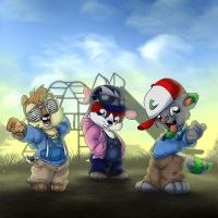 Playground Posse by Tavi-Munk
