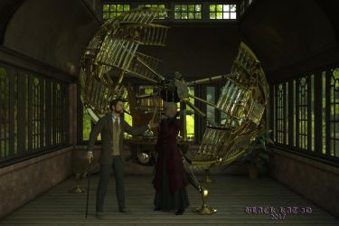 The Time Machine by black-kat-3d