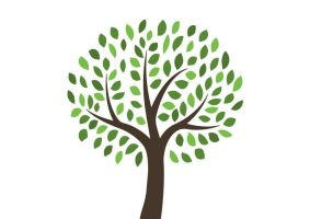 Free Vector Tree Illustration by superawesomevectors