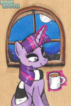 Winter Twilight Sparkle by PoneBooth