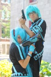 Love Is War Mikuo Miku by KyuProduction