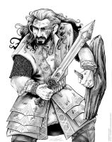 Azanulbizar Thorin Oakenshield by cfgriffith