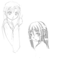 Here is more random sketches by khclupus