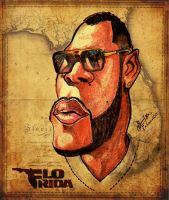 Flo Rida - Caricature by libran005