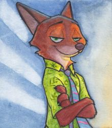 Nick Wilde by mattyhex