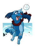 Catching Snowballs - Meck by DorteTorte