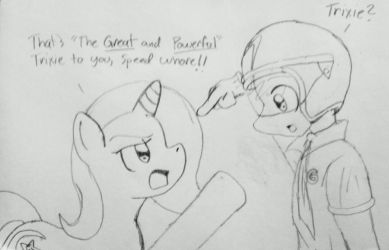 Wrong Trixie by Fox-Skyline