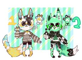 CLOSED TY! Random Adopts ! by TwixDevil