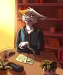 Melancholy Letters by SpitfiresOnIce
