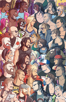 Raw vs Smackdown 2 by TheSteveYurko