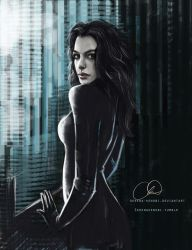 Anne Hathaway - Selina Kyle by ChristyTortland