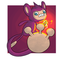 Aipom is Angry for Some Reason