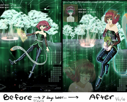Revisit After 7 Days...An Improvement Meme~ by Aloubell