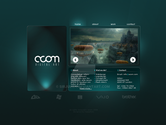 acom webdesign by SirJulien