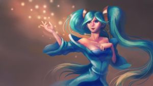 SONA-League of Legends by baby80526