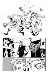 Fantomex MAX, Issue 1, page 12 by Inkpulp