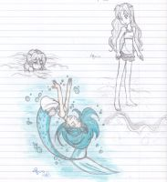 Mermaids wanna have fun by 19DarkArtist94