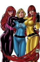 marvel girls by jeanx13
