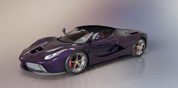 LaFerrari Purple by TheRedCrown