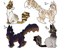 30 POINT CAT ADOPTABLES 2.0 CLOSED!! by Lofesyouruncle