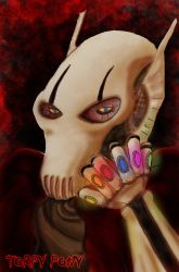 General Grievous with Infinity Gems by Torpy-Ponius