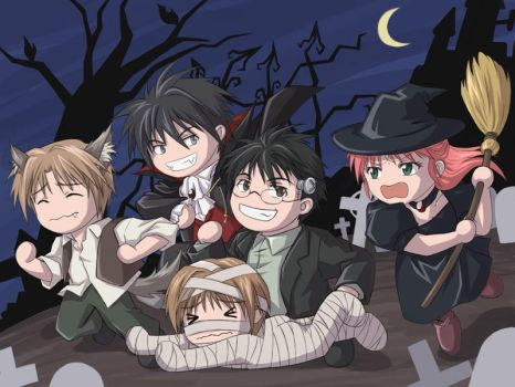 HP - Trick or Treat? by cat-cat
