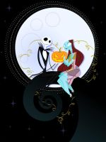 Jack and Sally's Nightmare by spicysteweddemon
