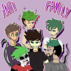 Anti Family by YamiLuna8787