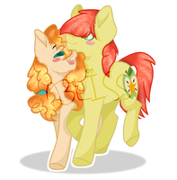 Pear Butter X Bright Mac by MacaroonBurst