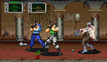 Resident Evil CPS2 ZOOM X2 by juniorbunny