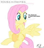 Ponies in Panties Fluttershy by RuttoSSJ