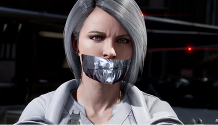 Silver Sable Tape Gagged by TheBlenderTaper