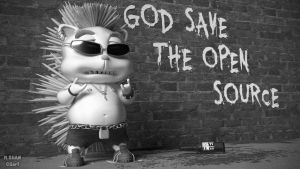 God Save The Open Source by MaryShan