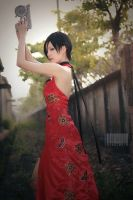 Red butterfly - Resident Evil 4 by UchihaSayaka