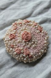 Rose Brooch by l-heure-du-the